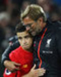jurgen klopp has threatened to quit liverpool if philippe coutinho is sold - mcgarry