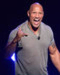 Movie hunk Dwayne Johnson makes a very SWEET confession