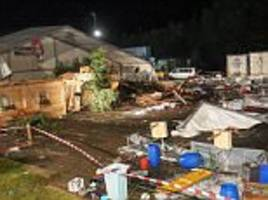 Two killed after storm rips through Austrian beer tent