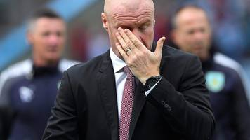 Burnley 0-1 West Brom: Sean Dyche frustrated with 'unfair' result for the Clarets