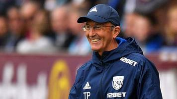 Burnley 0-1 West Brom: Tony Pulis pleased 'fantastic' Baggies' three points