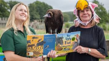 gruffalo author julia donaldson in safari park preview