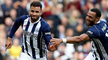 burnley 0-1 west bromwich albion