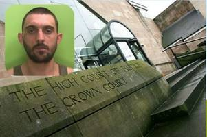 Burglar who posed with rifle on Facebook is jailed after terrifying a family during raid on their home