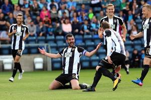 Notts County survive Wycombe Wanderers fightback to claim thrilling win
