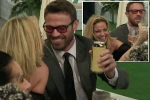 It's official! CBB's Chad Johnson asks Sarah Harding to be his GIRLFRIEND - despite her having someone in the outside world