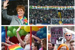nicola sturgeon tells pride glasgow rally 'there is still work to do' as scotland unites to support equality