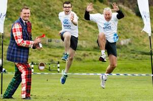 rugby star doddie weir fights back against mnd as he launches charity fun run