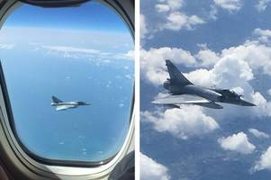 tourists 'terrified' as jet2 flight from malaga is tailed by french fighter jet