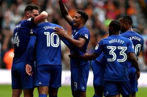 cardiff city goal sensation nathaniel mendez-laing is like a youngster with a new ball - neil warnock