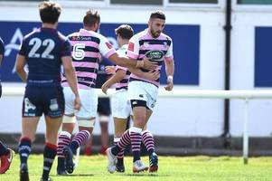 London Scottish 23-34 Cardiff Blues: Aled Summerhill claims a hat-trick in useful pre-season workout