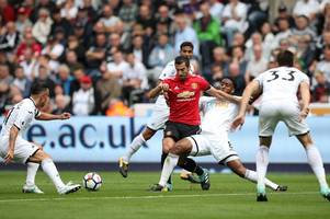 Manchester United drubbing highlights how much Swansea City miss stars from last season's great escape