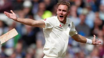 Pint-sized TMS: Landmark Stuart Broad wicket as England cruise to win over poor West Indies