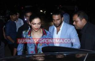 Photos: Ranveer Singh SLAMS Breakup Rumours, Takes Deepika Padukone Go On A Dinner Date