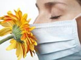 Hay fever 'may trigger depression'