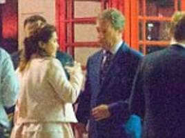 nigel farage pictured on a night out with laure ferrari