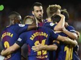 Barcelona 2-0 Real Betis: Lionel Messi inspires victory