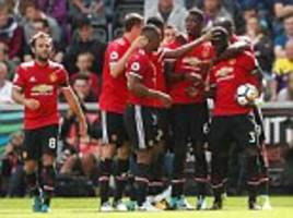 Jose Mourinho has created a team of giants at Man Utd