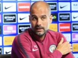 manchester city vs everton: pep guardiola expects to win