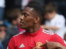 mourinho says martial's 'professional level has improved'