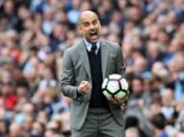 Pep Guardiola hails 'amazing' Manchester City strikers
