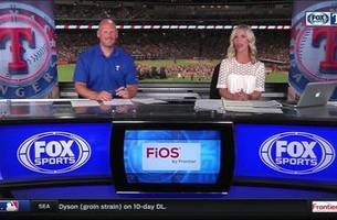 any run support left for a.j. griffin? | rangers live