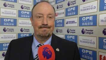 Huddersfield 1-0 Newcastle: Rafael Benitez frustrated with 'one mistake'