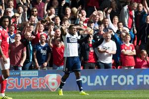 nottingham forest's jordan smith loved every minute of his battle with 'beast' britt assombalonga