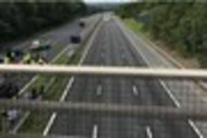 live updates as m20 closed in both directions and air ambulance...
