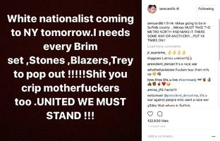 """Cardi B Warns Any White Nationalist Coming To Her City: """"I Needs Every Brim Set, Stones, Blazers, Trey To Pop Out!!!"""""""