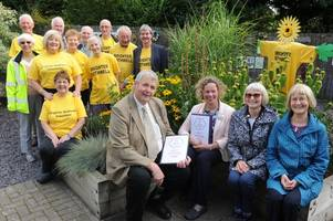 Bothwell puts out the red carpet for Britain in Bloom judges