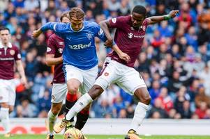 hearts midfielder arnaud djoum wants to pit his wits against neymar in france after confirming ligue 1 interest