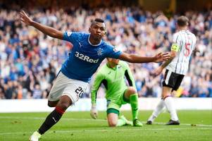 rangers striker alfredo morelos is a fighter and he won't be bullied says pedro caixinha