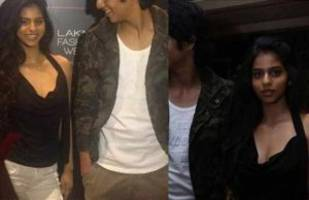 photos: suhana khan brings a surprise date for lakme fashion week!