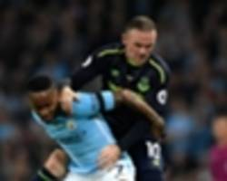 Sterling steals spotlight from Rooney Manchester City and Everton draw