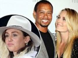 Tiger Woods and Lindsay Vonn nude selfies 'leaked to site'