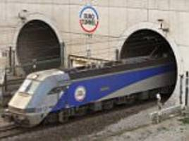 drug dealer on the run arrested in the channel tunnel