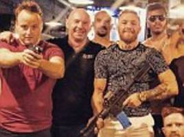 conor mcgregor vs floyd mayweather: heavy artillery is out