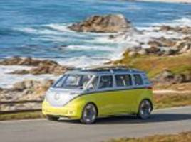 vw to make electric version of classic microbus camper van