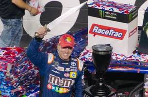 Winner's Weekend: Kyle Busch and his crew chief recap the strategy that sent them to Victory Lane at Bristol