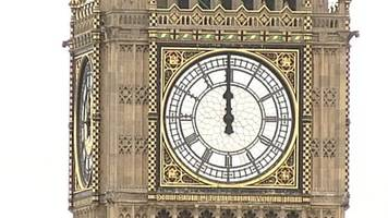 Final Big Ben chimes for now