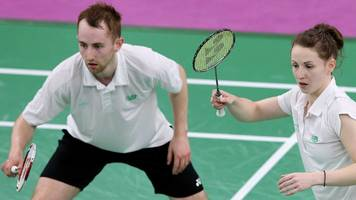 Chloe and Sam Magee: Sister and brother win mixed opener at World Championships