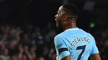 Sterling salvages point for Man City as both sides end with 10 men