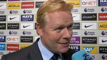 Manchester City 1-1 Everton: Koeman 'happy' to have Rooney back