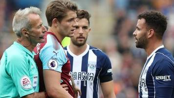 hal robson-kanu: west brom lose appeal against forward's red card