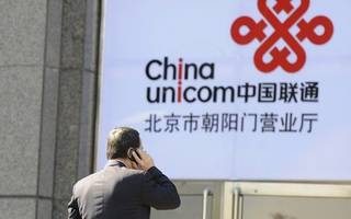 "Shares in ""exceptional case"" Chinese telco giant pop 10 per cent"