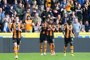 hull city's remarkable upheaval put into perspective by contrast to west ham united win four months ago