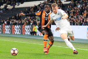 Swansea City's Stephen Kingsley to join Hull City as Sam Clucas heads the other way