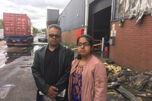 Business owner fears for family in Pakistan after huge factory fire leaves him unable to pay suppliers
