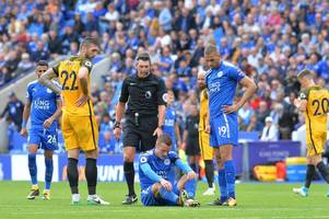 leicester city injury news: jamie vardy has returned to training
